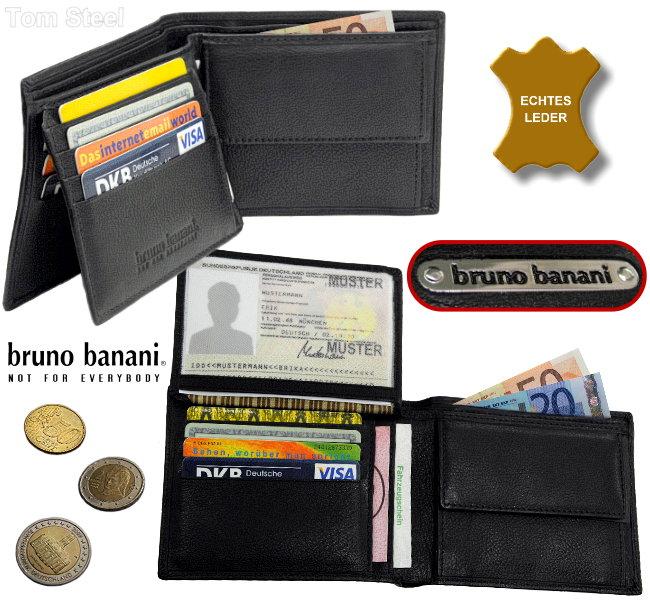 bruno banani, Geldboerse, Brieftasche, Portemonnaies, Geldbeutel, Geldtasche, wallet, purse