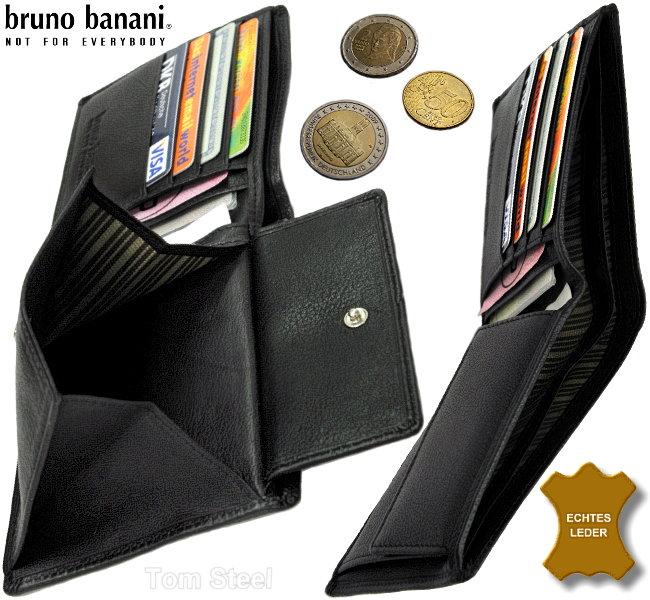 bruno banani, Geldboerse, Brieftasche, Portemonnaie, Geldbeutel, Geldtasche, wallet, purse