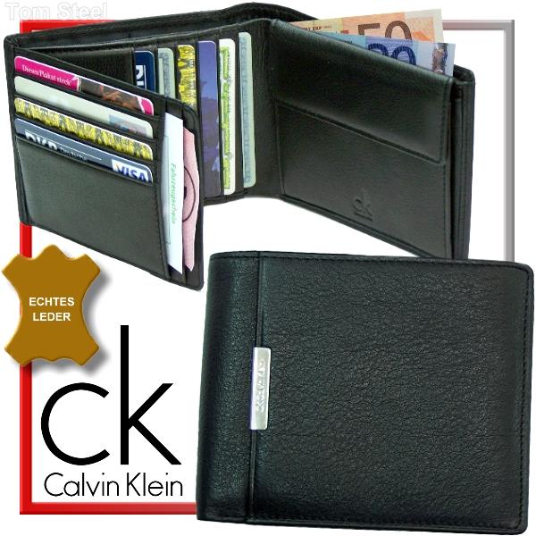 calvin klein herren geldb rse geldbeutel portemonnaie ebay. Black Bedroom Furniture Sets. Home Design Ideas