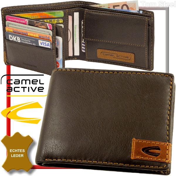 camel active herren geldb rse men 39 s wallet portemonnaie geldbeutel portmonai neu ebay. Black Bedroom Furniture Sets. Home Design Ideas