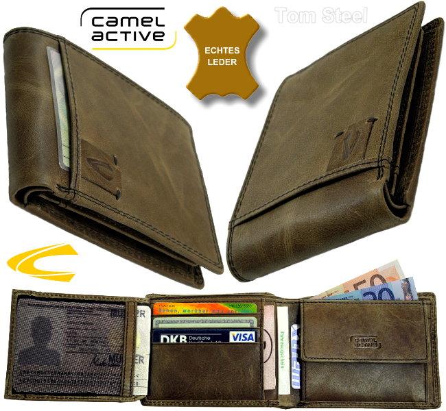 camel active herren geldboerse leder portemonnaie wallet neu ebay. Black Bedroom Furniture Sets. Home Design Ideas