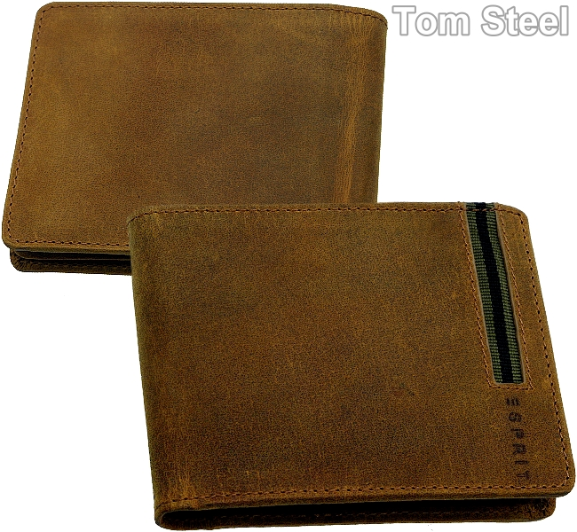 esprit herren geldb rse cowboy portemonnaie geldtasche brieftasche geldbeutel ebay. Black Bedroom Furniture Sets. Home Design Ideas