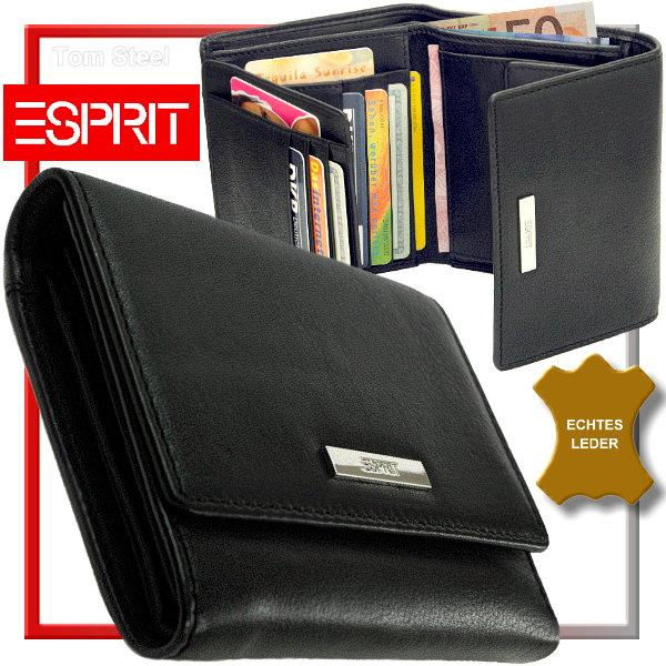 esprit damen geldb rse leder portemonnaie lady 39 s purse. Black Bedroom Furniture Sets. Home Design Ideas