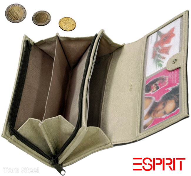 esprit damen geldb rse geldbeutel portmonee geldtasche. Black Bedroom Furniture Sets. Home Design Ideas