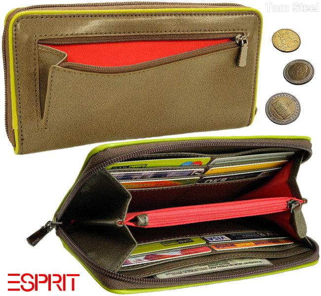 esprit travel wallet damen geldb rse geldbeutel rv. Black Bedroom Furniture Sets. Home Design Ideas