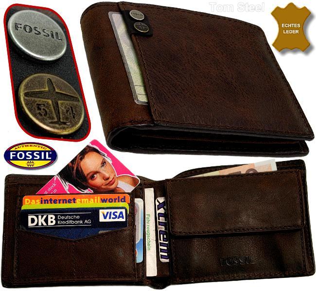 FOSSIL, Geldboerse, Portmonee, Brieftasche, Portemonnaie, Geldbeutel, Geldtasche, wallet, purse