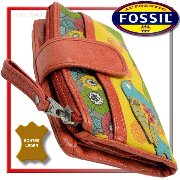 fossil damen portemonnaie geldbeutel geldb rse bunt neu. Black Bedroom Furniture Sets. Home Design Ideas
