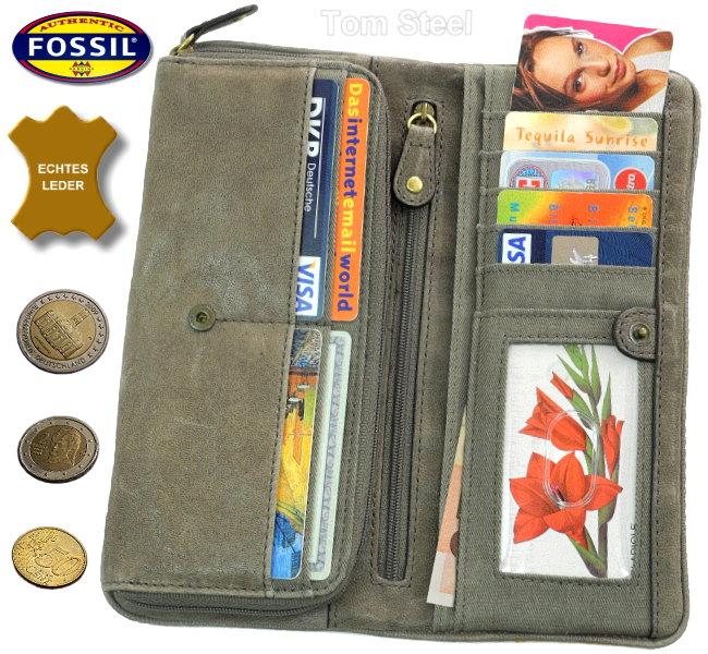 fossil ladies money purse wallet xl new ebay. Black Bedroom Furniture Sets. Home Design Ideas