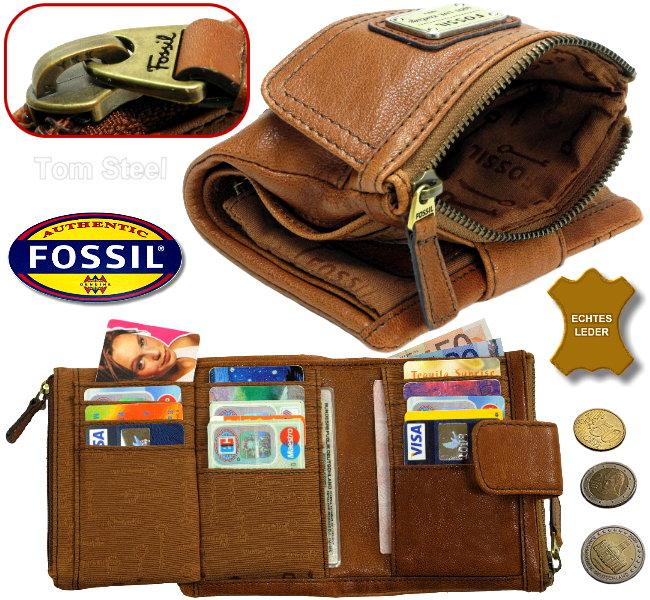 fossil damen geldb rse geldbeutel portemonnaie geldtasche. Black Bedroom Furniture Sets. Home Design Ideas