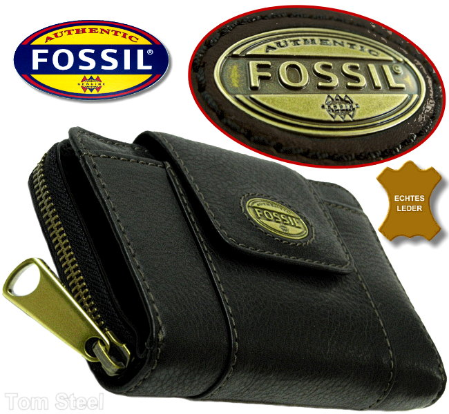 fossil damen geldb rse schwarz geldbeutel portemonnaie b rse purse neu ebay. Black Bedroom Furniture Sets. Home Design Ideas