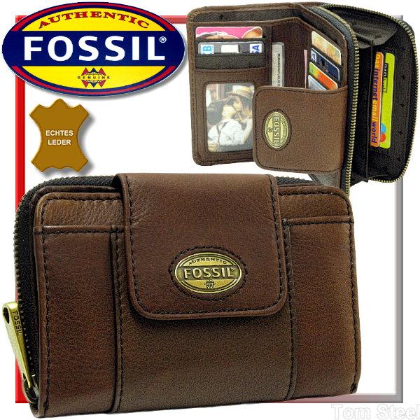 fossil damen geldb rse espresso geldbeutel portemonnaie b rse purse neu ebay. Black Bedroom Furniture Sets. Home Design Ideas