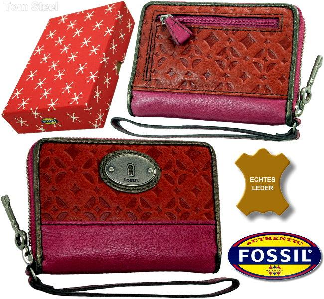 fossil damen geldb rse mit handyfach fach f r handy portmonee geldbeutel neu. Black Bedroom Furniture Sets. Home Design Ideas