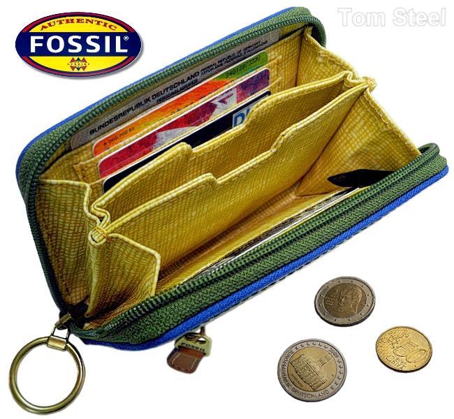 fossil damen portemonnaie geldbeutel geldb rse geldtasche. Black Bedroom Furniture Sets. Home Design Ideas