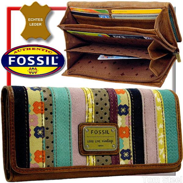 fossil patchwork damen geldb rse xl geldbeutel. Black Bedroom Furniture Sets. Home Design Ideas