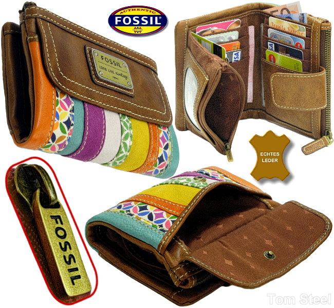 cd656a9a8f179 FOSSIL Börse(schön)Leder Damen Geldbörse Geldbeutel Portemonnaie