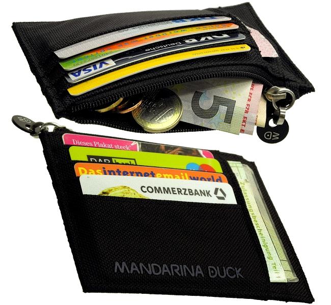 mandarina duck ec karten kreditkarten geldschein etui 8mm. Black Bedroom Furniture Sets. Home Design Ideas