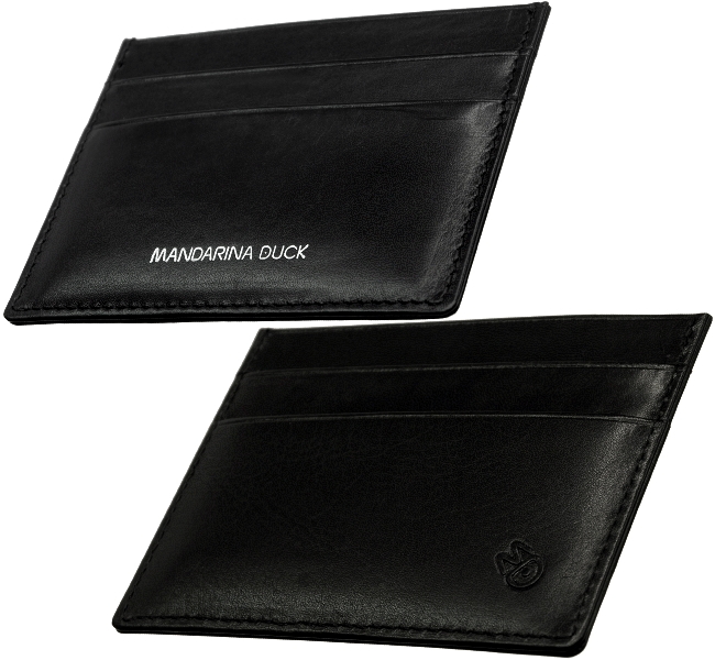 mandarina duck ec karten kreditkarten etui flach 5mm. Black Bedroom Furniture Sets. Home Design Ideas