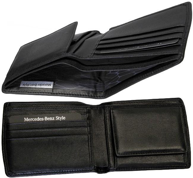 mercedes benz style men 39 s wallet viennese case wallet. Black Bedroom Furniture Sets. Home Design Ideas