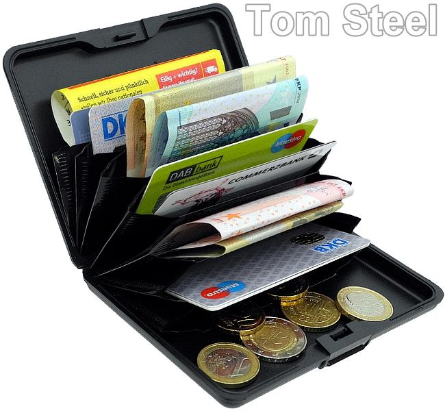 gon aluminium portemonnaie brieftasche geldbeutel. Black Bedroom Furniture Sets. Home Design Ideas