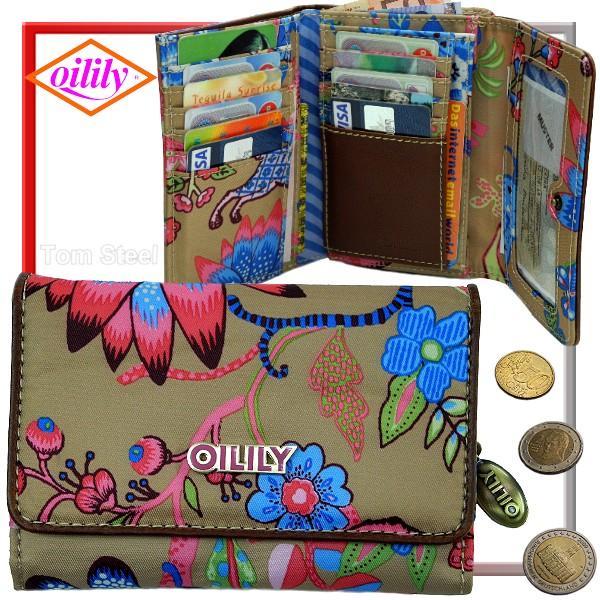 oilily damen geldb rse portemonnaie geldbeutel sand neu ebay. Black Bedroom Furniture Sets. Home Design Ideas