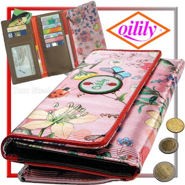 oilily damen portemonnaie geldbeutel geldb rse pink neu. Black Bedroom Furniture Sets. Home Design Ideas