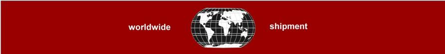 worldwide - shipment