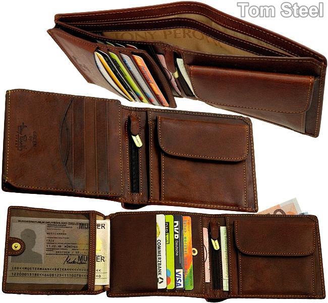 tony perotti herren geldb rse portemonnaie geldbeutel geldtasche neu ebay. Black Bedroom Furniture Sets. Home Design Ideas