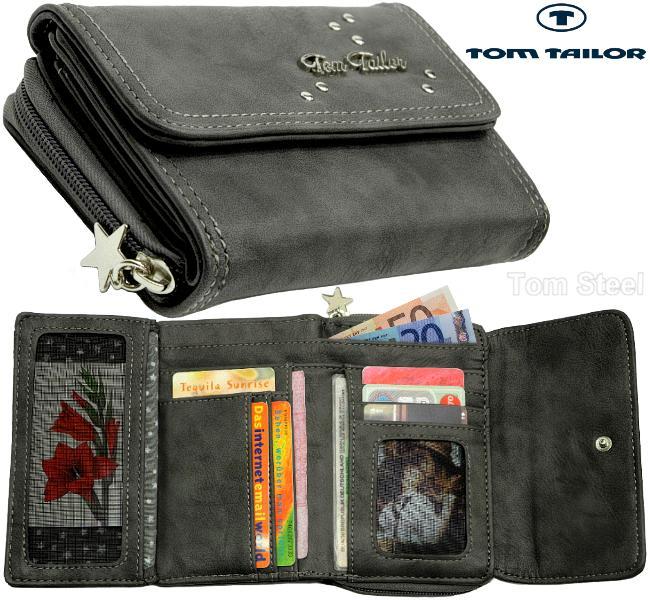 tom tailor geldboerse portemonnaie geldbeutel brieftasche. Black Bedroom Furniture Sets. Home Design Ideas