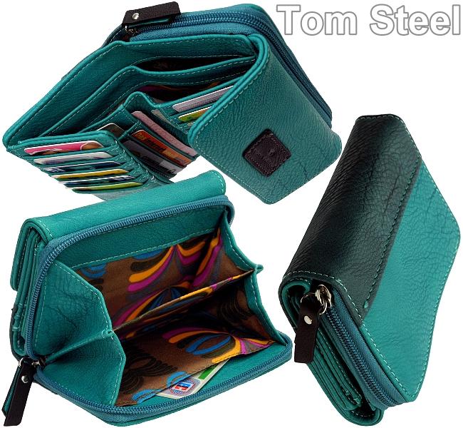 tom tailor damen geldb rse rei verschluss geldbeutel zip purse portemonnaie neu ebay. Black Bedroom Furniture Sets. Home Design Ideas